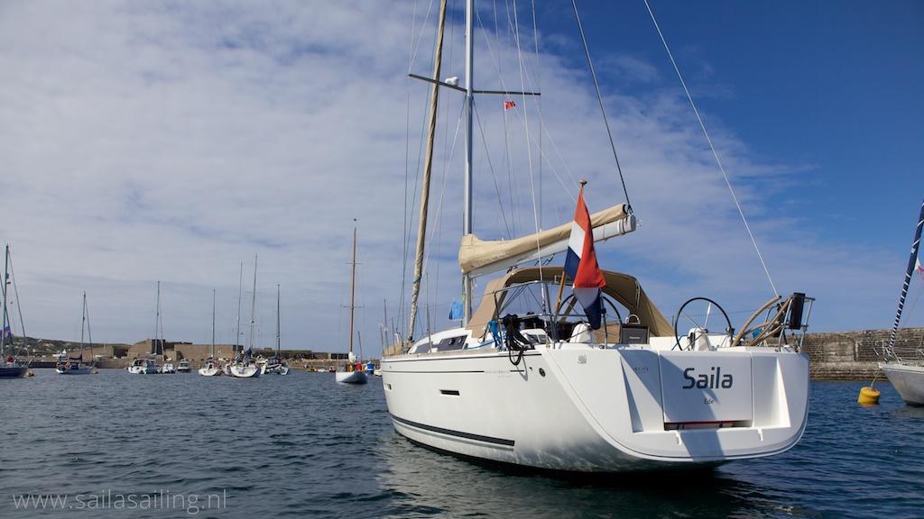 Saila in Braye Bay