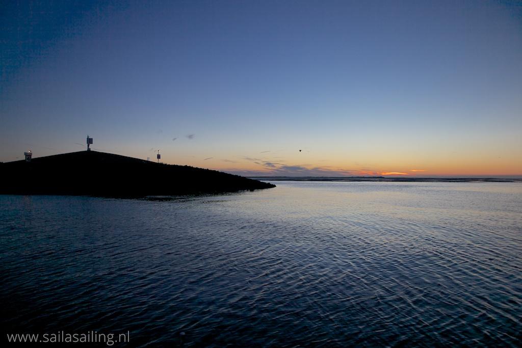 Prachtige zonsondergang!