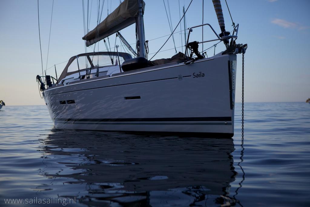 Saila voor anker