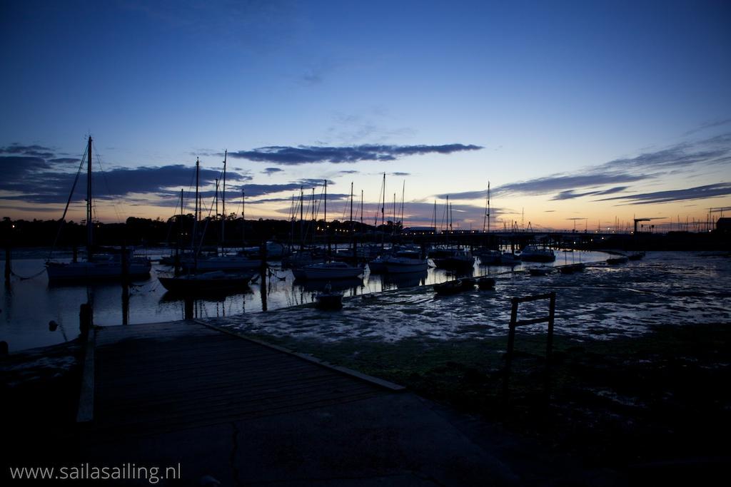 Binnenhaventje van Yarmouth
