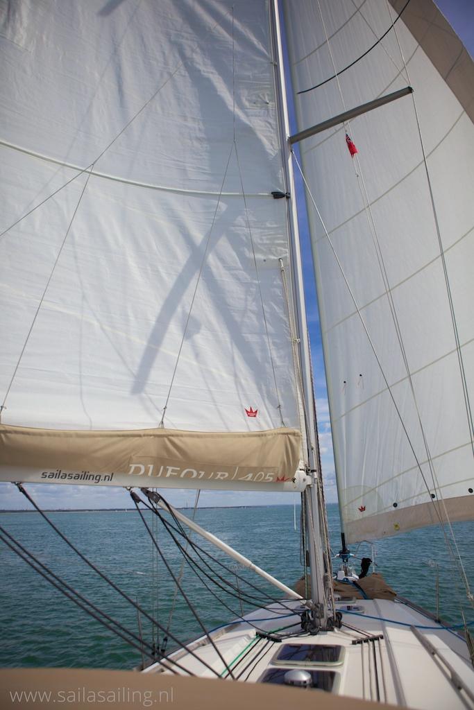 Voor de wind naar Portsmouth