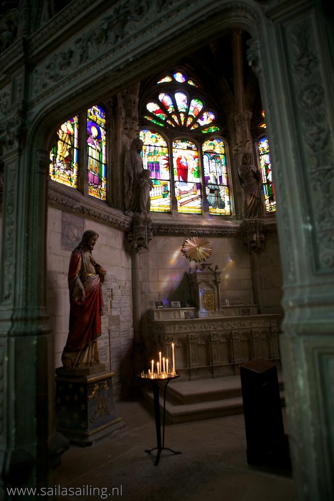 In de St. Jacques kerk