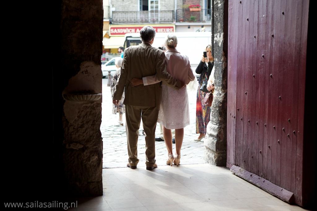 Prachtig bruidspaar