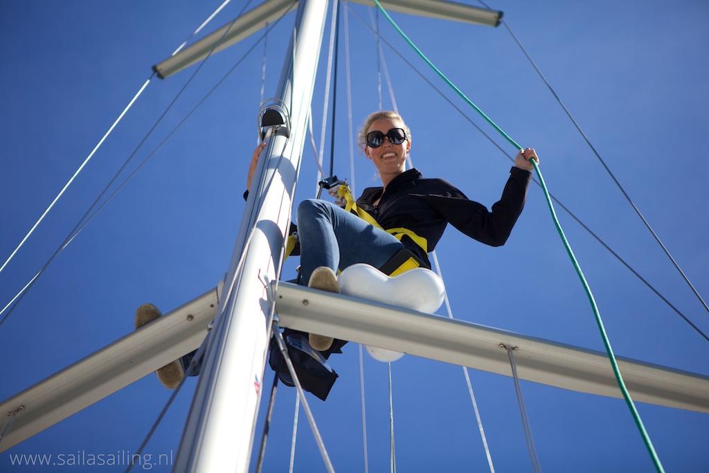 De mast in