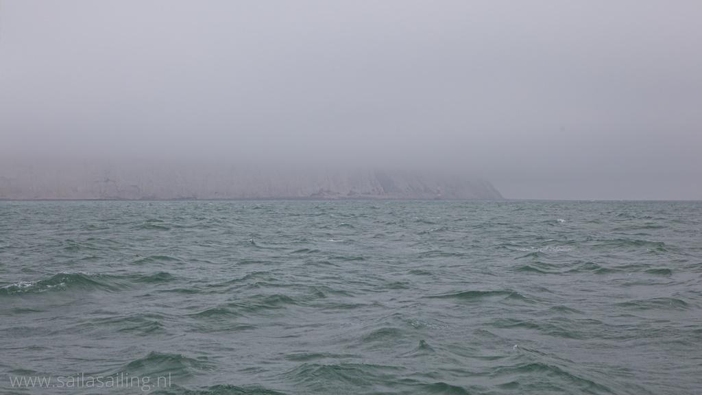 Mist bij Beachy Head