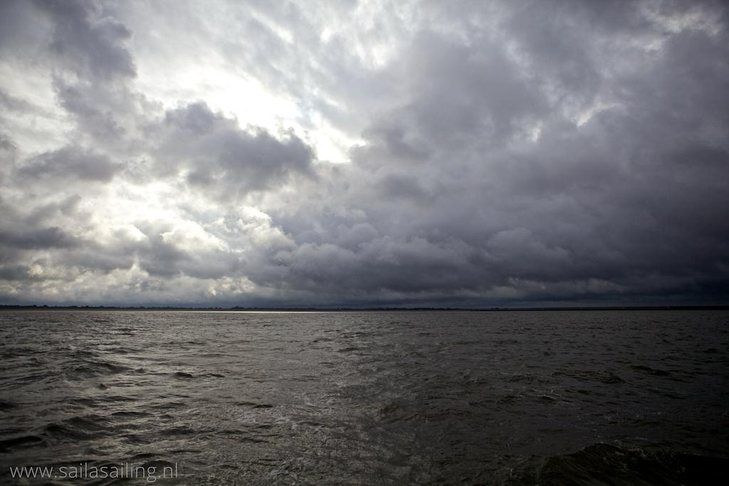 Imponerende wolkenlucht